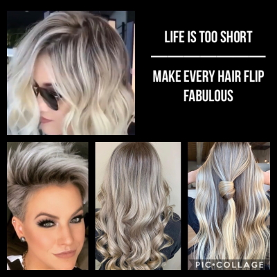Life is too short - make every hair flip fabulous